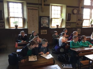 The children have decided that life at Greasbrough school is better than life in Victorian times