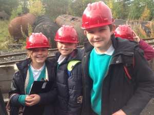 Ready to go down the mine!